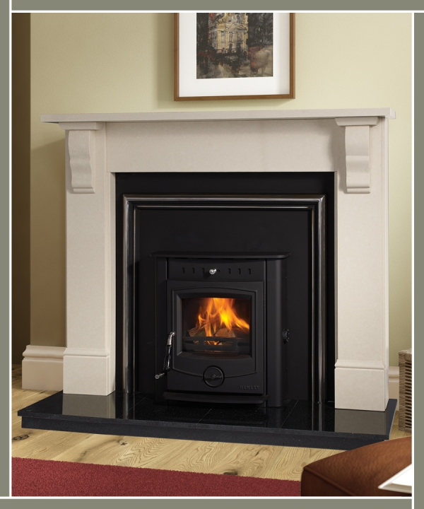 Plain Tudor Fireplace The Fireplace Factory Scully Stoves